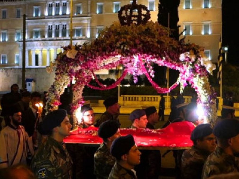Good Friday Epitaphios in Athens